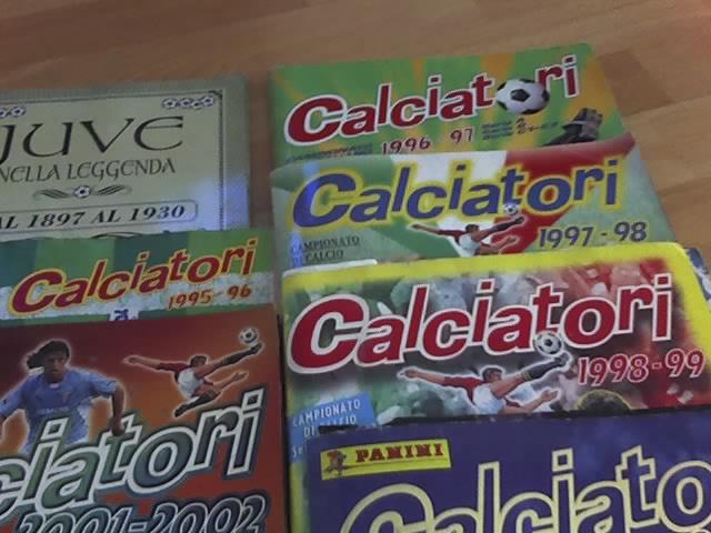 Album figurine calciatori 24-10-12