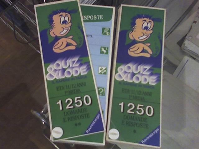 Quiz&Lode - prima media 24-11-10