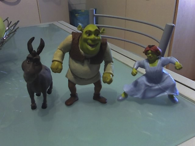 Lotto 3 personaggi Shrek 29-12-11