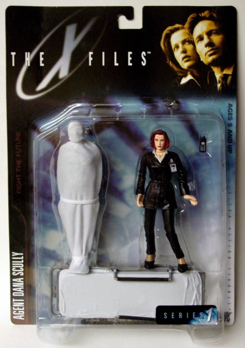 Action figures X-files Kgrhqf11