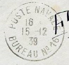 Bureau Naval N° 16 de Brest 1610