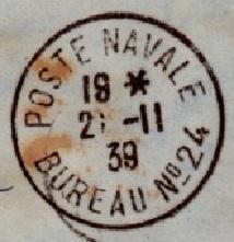 Bureau Naval N° 24 Casablanca 2410