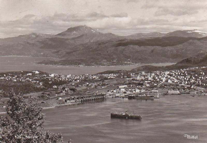 Bureau Postal Naval Temporaire N° 30 Campagne de Norvège - Narvik 908_0011