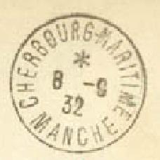 NAVAL - Bureau Naval N° 17 de Cherbourg 9155510