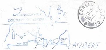 DOUDART DE LAGREE (AVISO ESCORTEUR) A20
