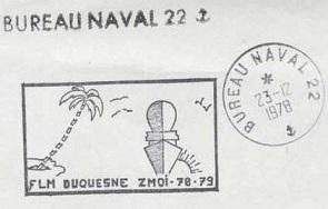 DUQUESNE (FREGATE LANCE-MISSILES) A24