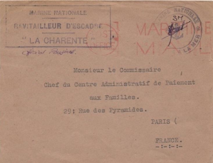 * LA CHARENTE (1946/1959) * Amk2u410
