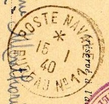 Bureau Naval N° 11 de Marseille B18