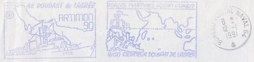 AVISO - DOUDART DE LAGREE (AVISO ESCORTEUR) B21
