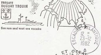 DUGUAY-TROUIN (FREGATE) B22
