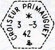 PRIMAUGUET (CROISEUR) B37