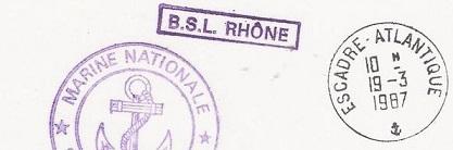 RHÔNE (BÂTIMENT DE SOUTIEN LOGISTIQUE) B40