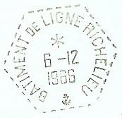RICHELIEU (BÂTIMENT DE LIGNE) B41