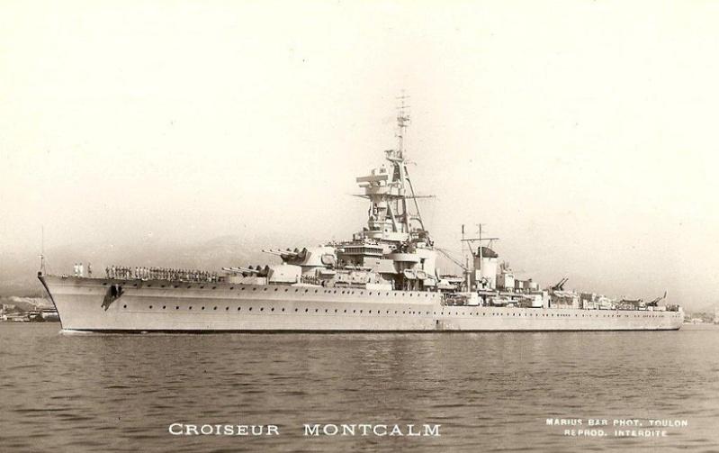 * TOULON MONTCALM, Bureau Postal Naval * Croise10
