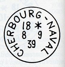 NAVAL - Bureau Naval N° 17 de Cherbourg Img18112