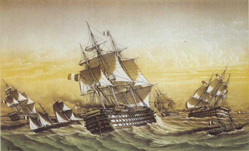 Escadre de la Baltique et Division Navale de l'Atlantique Nord. Lebret10