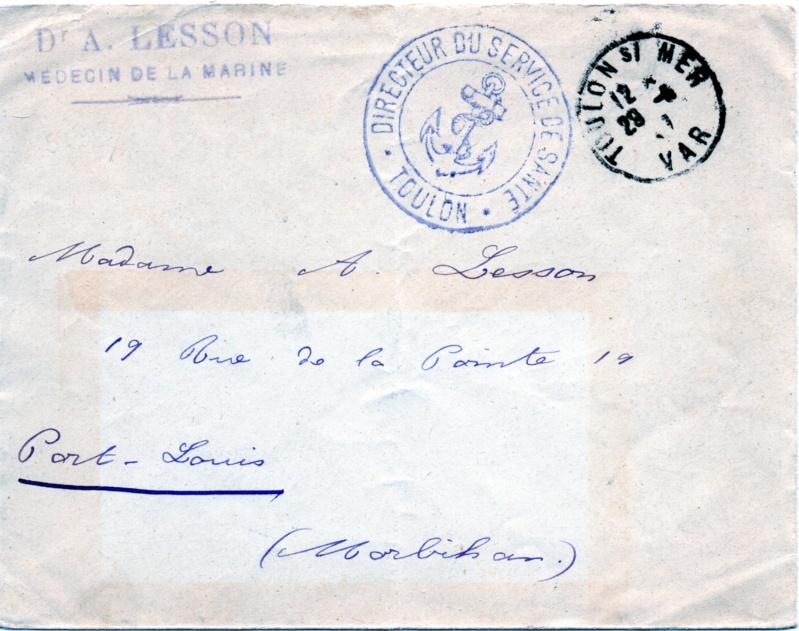 * TOULON, Service de Santé - Dr LESSON * X10