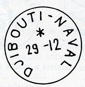 DJIBOUTI - DJIBOUTI NAVAL X11