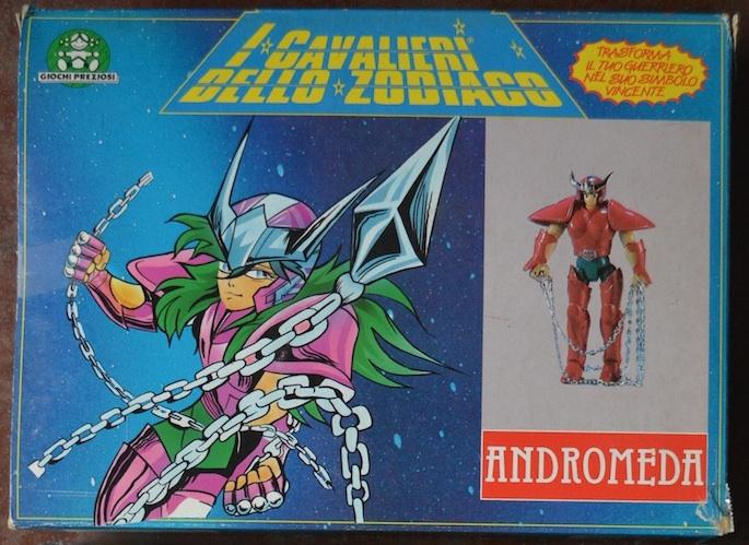 Vendo Cavalieri dello Zodiaco Vintage - scatola azzurra e scatola tempio Androm12