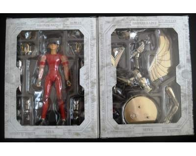 Cavalieri dello Zodiaco Myth Cloth Pegasus e Sirio il Dragone Image31