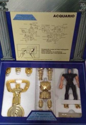 Cavalieri dello Zodiaco Cancer e Aquarius scatola tempio Image82