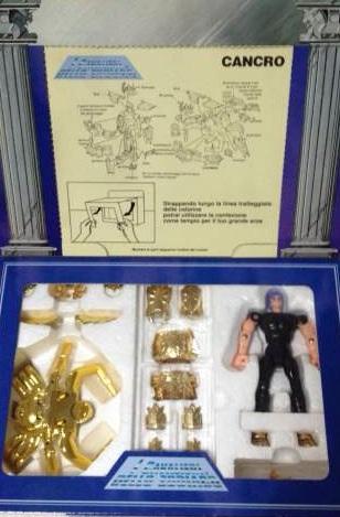 Cavalieri dello Zodiaco Cancer e Aquarius scatola tempio Image83
