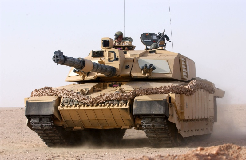 Heng Long Abrams and Challenger 2 5647110