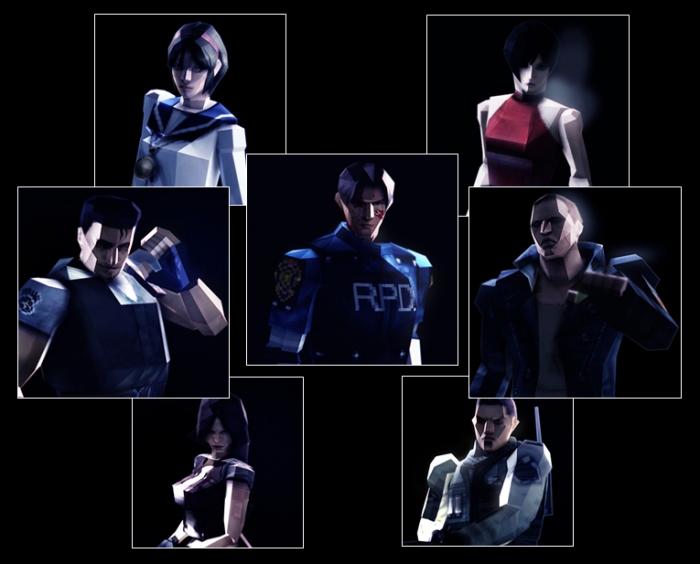 В Resident Evil 6 появятся ретро-модели персонажей Detail10