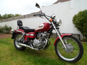 Honda Rebel 125cc à vendre. Cid_im11