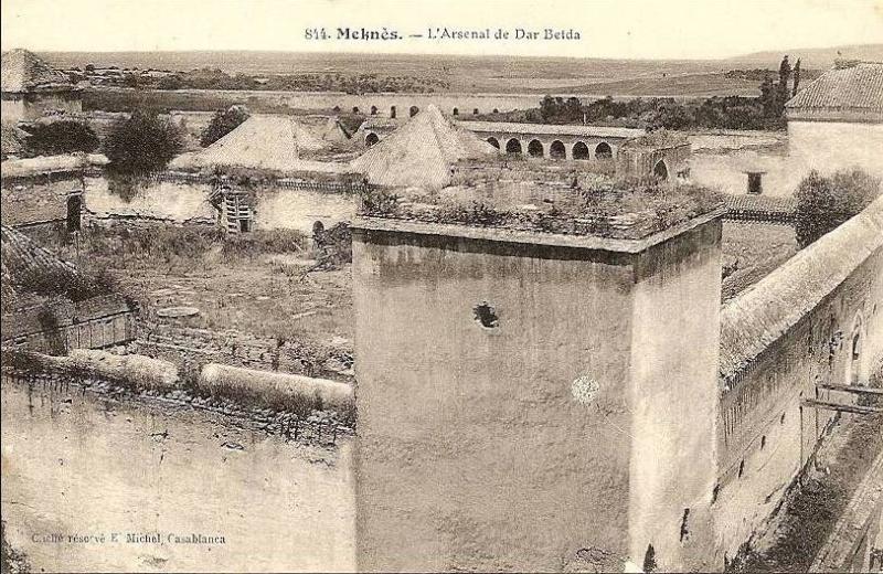 l'Ecole militaire Dar Beïda à Meknès Dar_be10