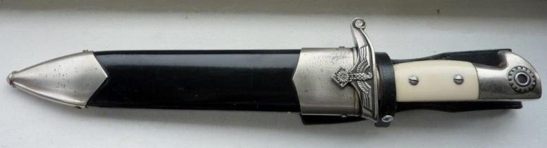 Fendoir (Coutelas) du TENO (mdl troupe) - Eickhorn P1210810