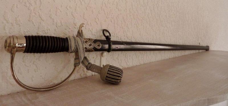 Epée de S/Officier SS - Eickhorn P1210851