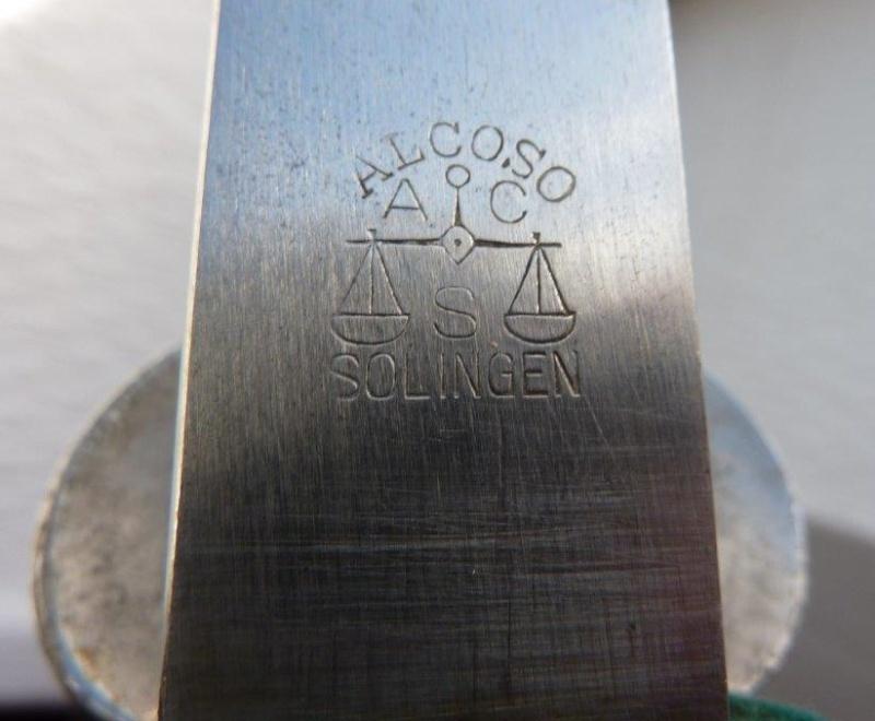Couteau de chasse des Tireurs / DSchV - Alcoso P1220145
