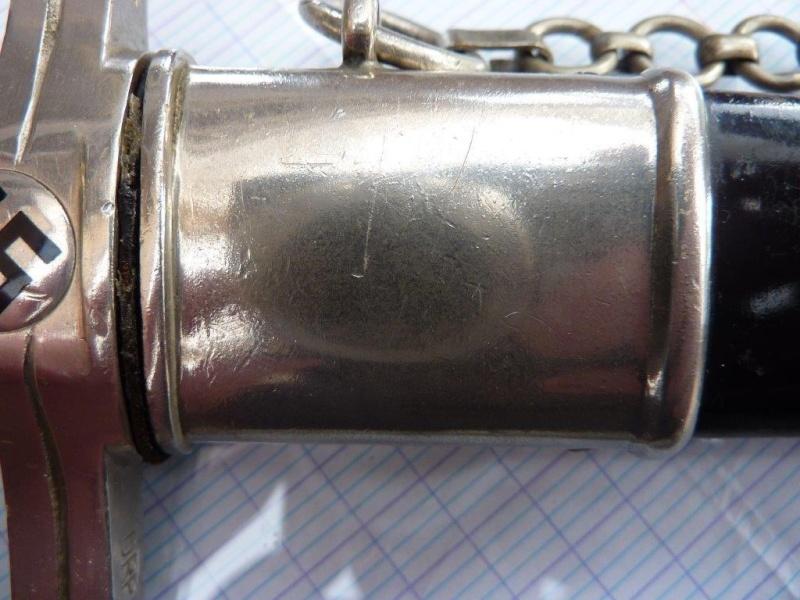 Dague Postschutz Führerdolch - P. Weyersberg P1230239