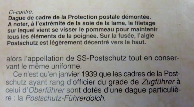 Dague Postschutz Führerdolch - P. Weyersberg P1230314