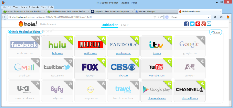 Hola Unblocker for Firefox 1.2.290 Hola-u10