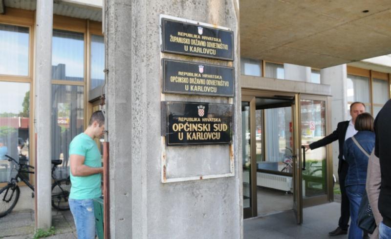 Afera NK Karlovac: Šprajcer i Kozjan privedeni kod suca istrage Županijskog suda  Sud10