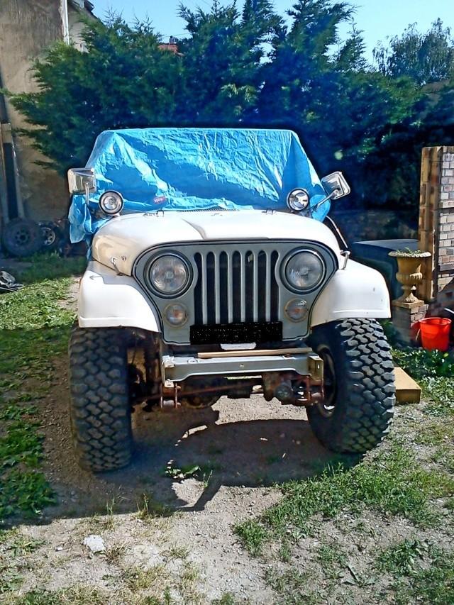rénovation de ma jeep cj7 , moteur v8 4,9l boite auto trois Jeep_c33