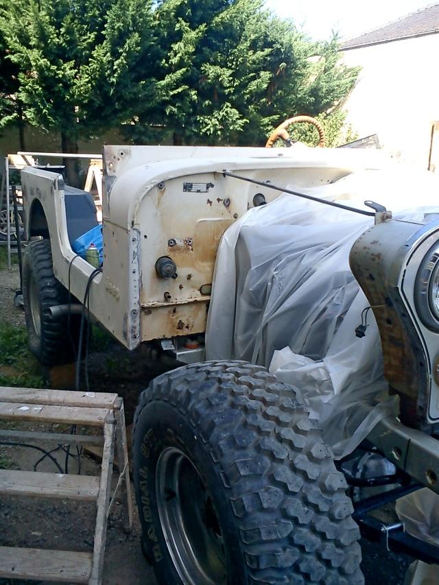 rénovation de ma jeep cj7 , moteur v8 4,9l boite auto trois Jeep_c34