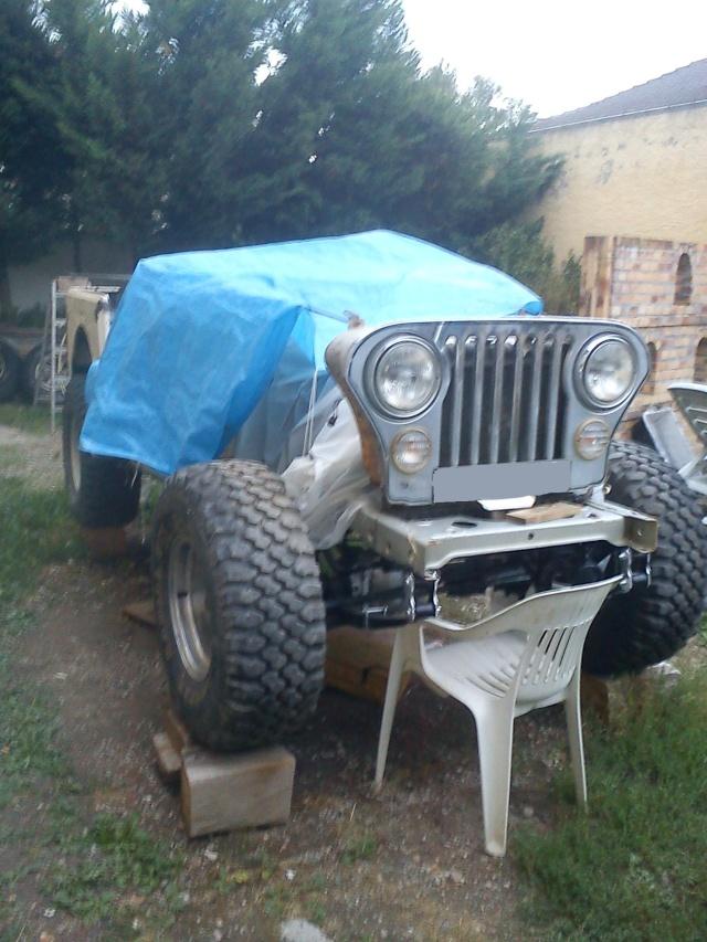 rénovation de ma jeep cj7 , moteur v8 4,9l boite auto trois Jeep_c35