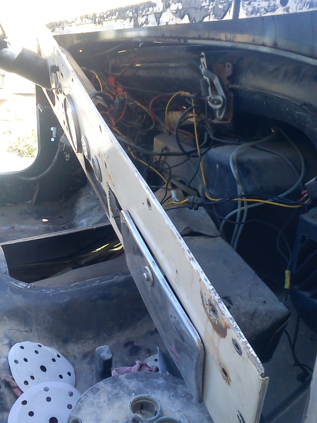 rénovation de ma jeep cj7 , moteur v8 4,9l boite auto trois Jeep_c38