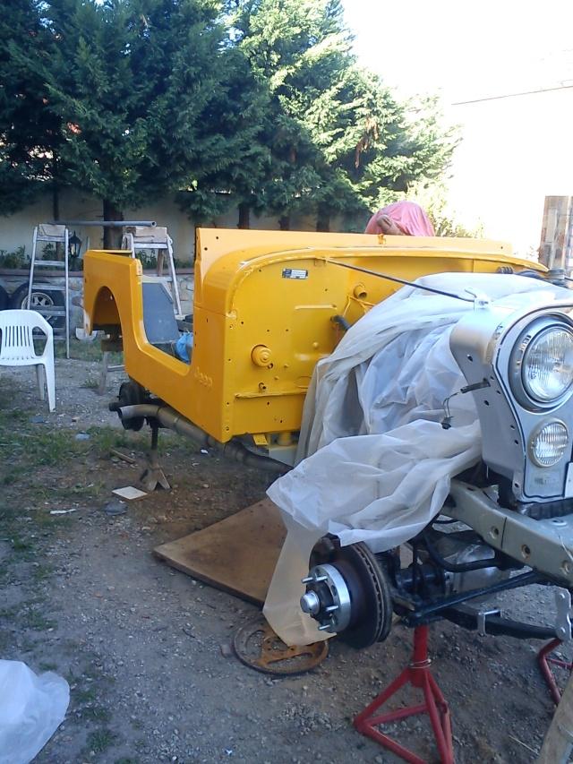 rénovation de ma jeep cj7 , moteur v8 4,9l boite auto trois Jeep_c46