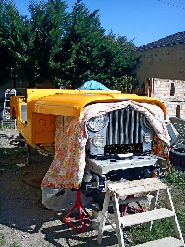 rénovation de ma jeep cj7 , moteur v8 4,9l boite auto trois Jeep_c47