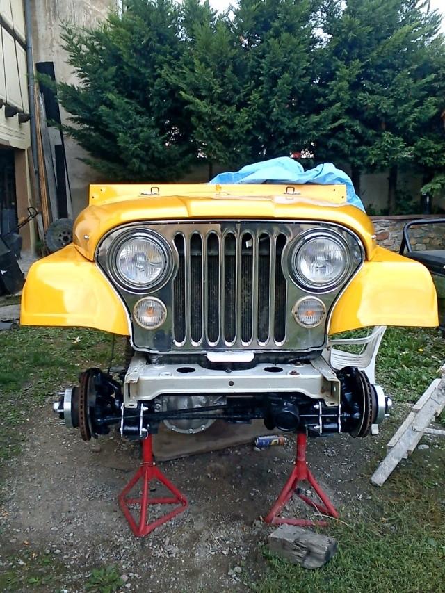 rénovation de ma jeep cj7 , moteur v8 4,9l boite auto trois Jeep_c48