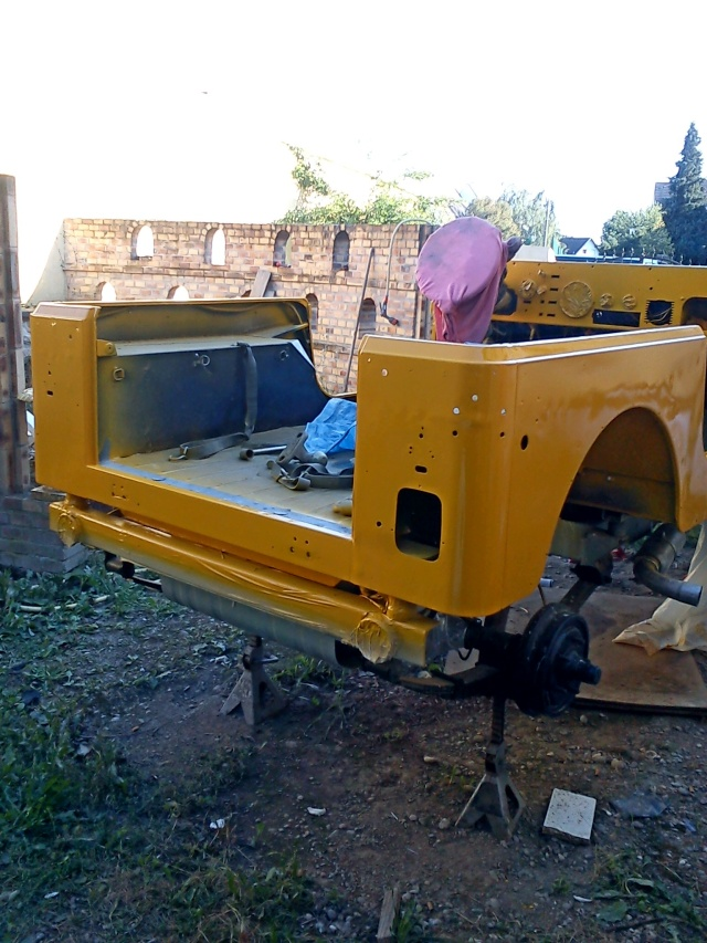 rénovation de ma jeep cj7 , moteur v8 4,9l boite auto trois Jeep_c49