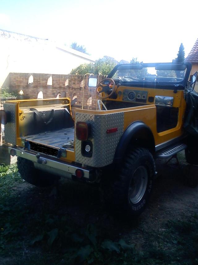 rénovation de ma jeep cj7 , moteur v8 4,9l boite auto trois Jeep_c52