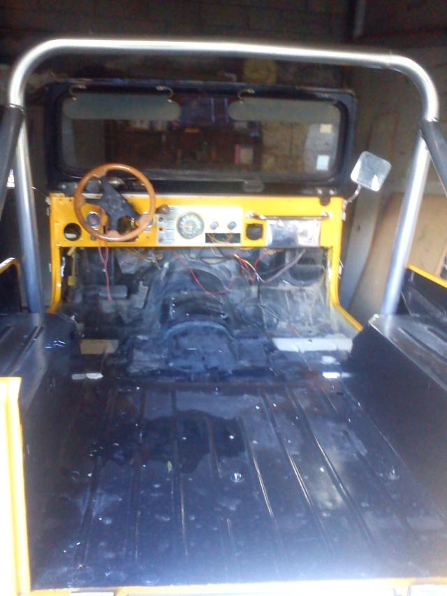 rénovation de ma jeep cj7 , moteur v8 4,9l boite auto trois Jeep_c55