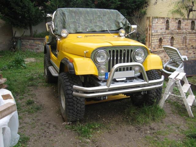 rénovation de ma jeep cj7 , moteur v8 4,9l boite auto trois Jeep_c56
