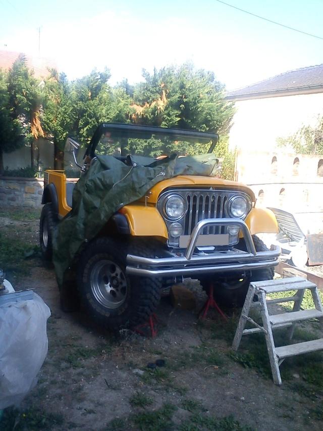 rénovation de ma jeep cj7 , moteur v8 4,9l boite auto trois Jeep_c57
