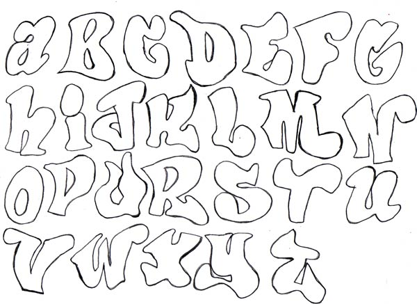 Assignment 12: Graffiti Alphabet due Oct 22 Graffi10